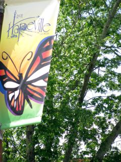 Seasonal Gatway Butterfly Banner