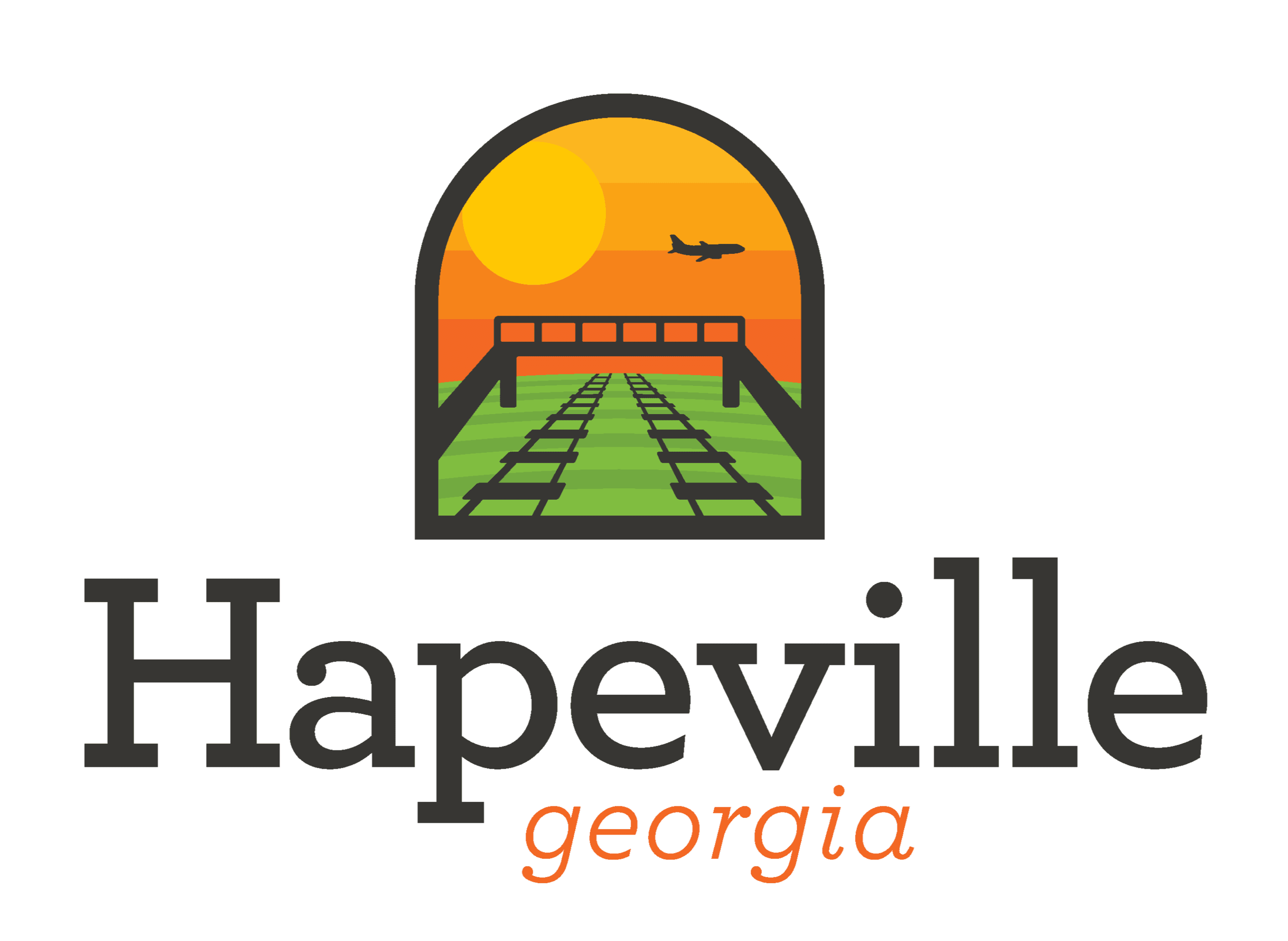 New Hapeville Logo vertical