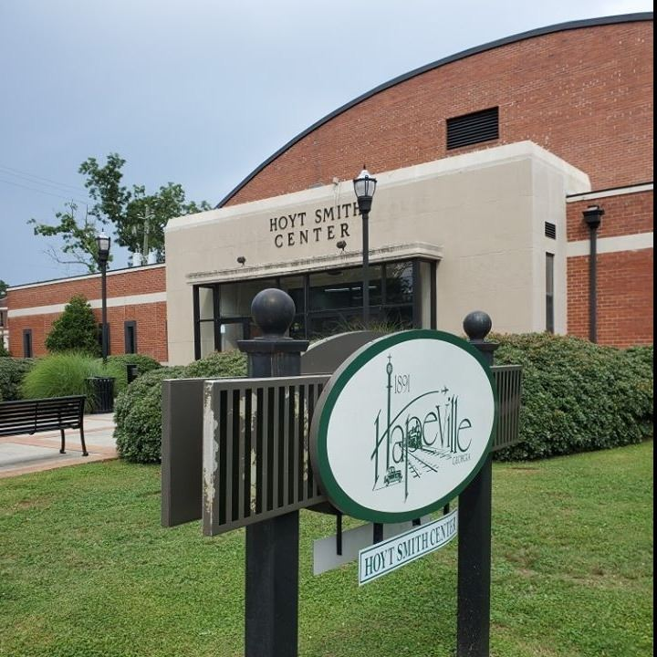 Hoyt Smith Sign outside of Recreation Center