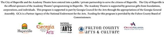 Banner of Logos pertaining to Academy Theatre