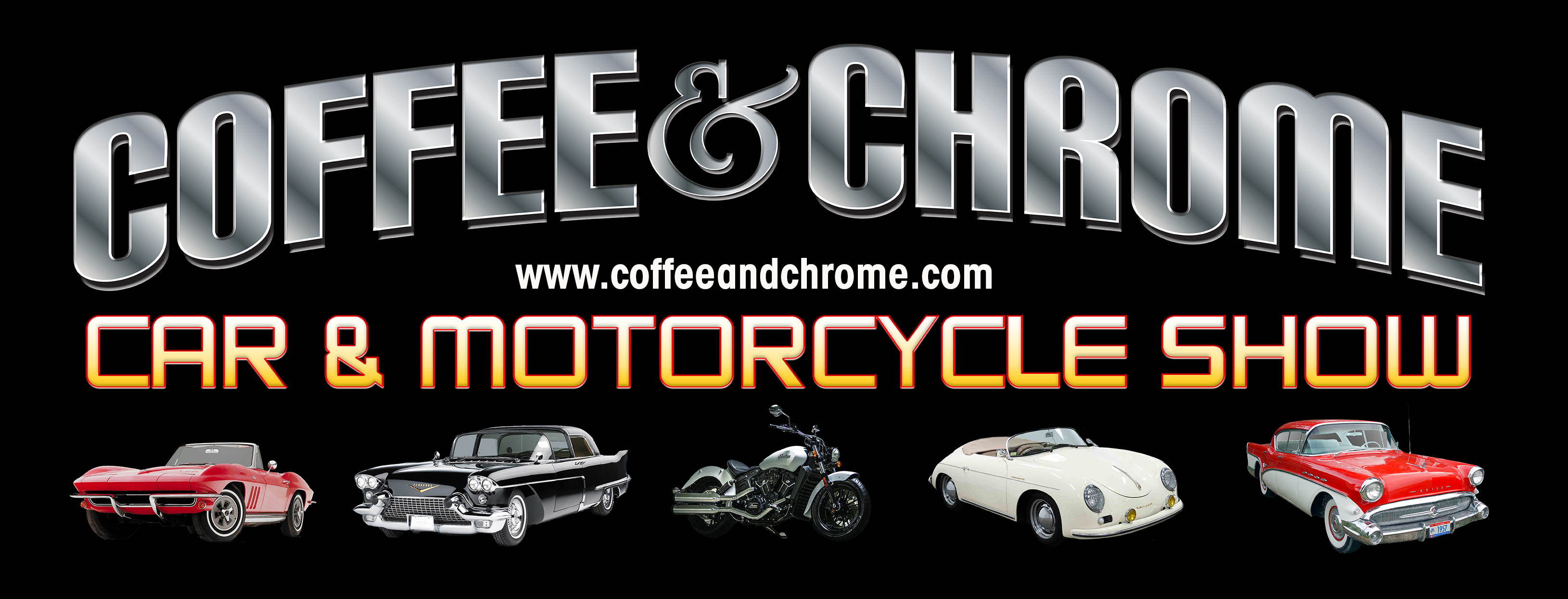 New Use Coffee and Chrome Logo
