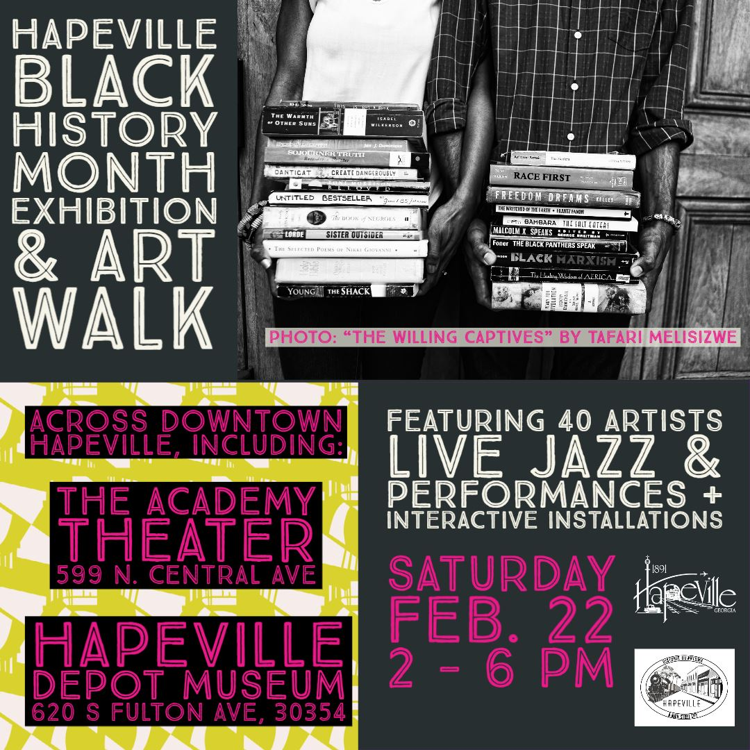Flyer with information about Black History Event