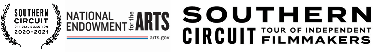 Sponsors and Partners Banner regarding the Southern Circuit Film Series 2020-2021